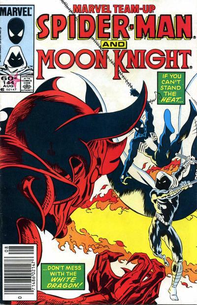 Cover for Marvel Team-Up (Marvel, 1972 series) #144 [Direct]