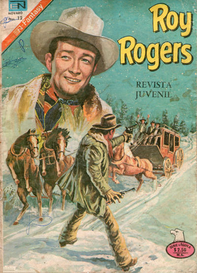 Cover for Roy Rogers (Editorial Novaro, 1952 series) #366