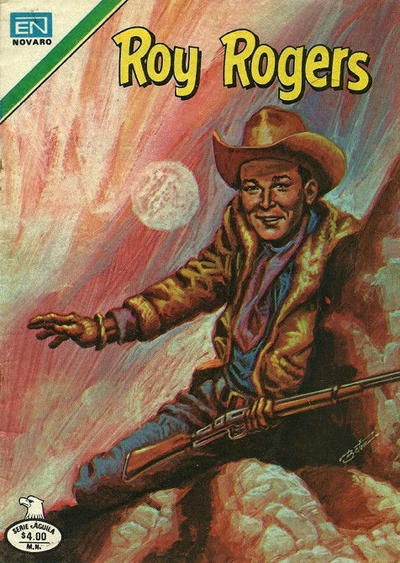 Cover for Roy Rogers (Editorial Novaro, 1952 series) #421