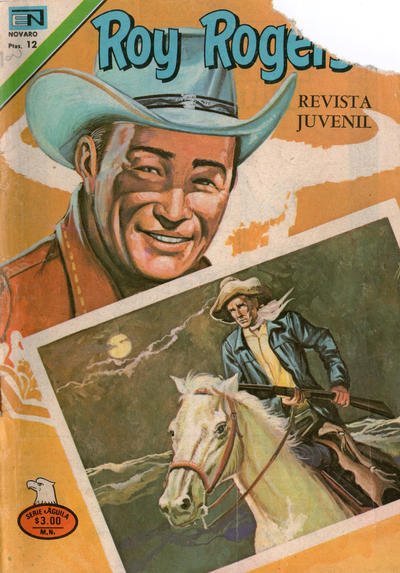 Cover for Roy Rogers (Editorial Novaro, 1952 series) #369