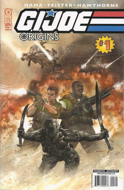Cover for G.I. Joe: Origins (IDW, 2009 series) #1 [Cover RI]