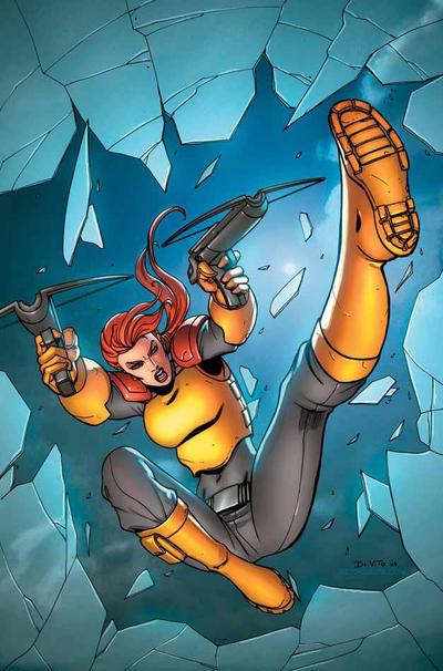 Cover for G.I. Joe: Origins (IDW, 2009 series) #4 [Cover RI]