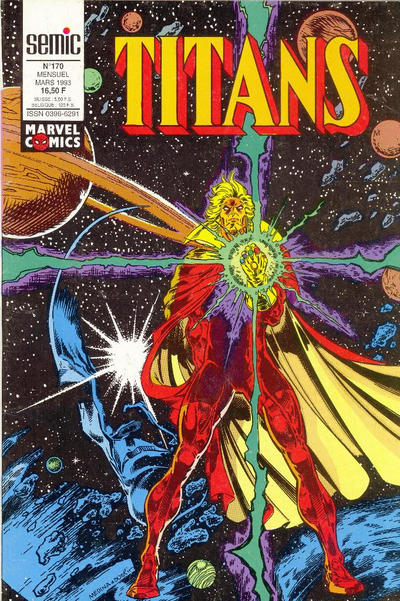 Cover for Titans (Semic S.A., 1989 series) #170