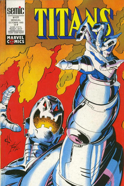 Cover for Titans (Semic S.A., 1989 series) #177