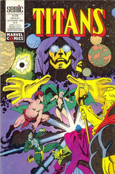 Cover for Titans (Semic S.A., 1989 series) #179