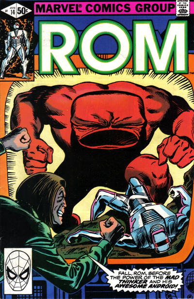 Cover for ROM (Marvel, 1979 series) #14 [Newsstand Edition]
