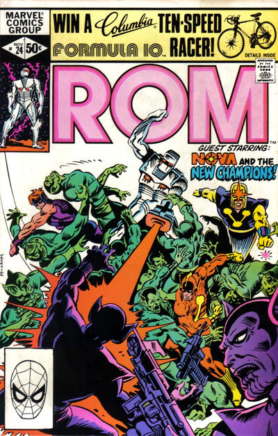 Cover for ROM (Marvel, 1979 series) #24 [Direct Edition]