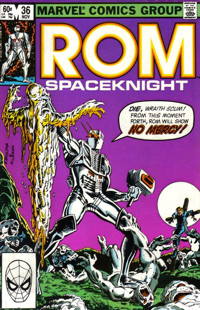 Cover for ROM (Marvel, 1979 series) #36 [Newsstand Edition]