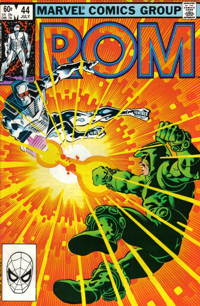 Cover for ROM (Marvel, 1979 series) #44 [Newsstand Edition]