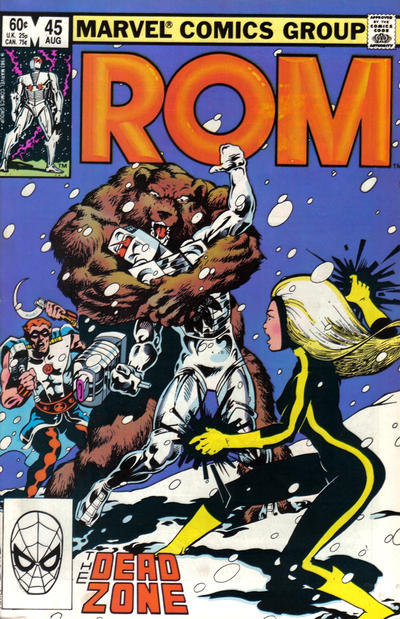 Cover for ROM (Marvel, 1979 series) #45 [Newsstand Edition]