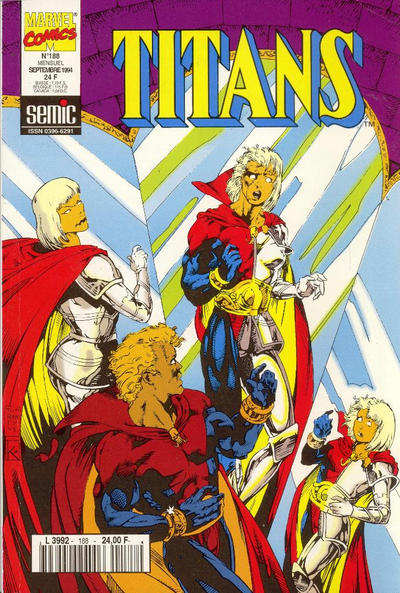 Cover for Titans (Semic S.A., 1989 series) #188