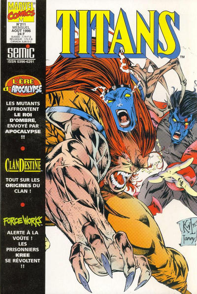 Cover for Titans (Semic S.A., 1989 series) #211