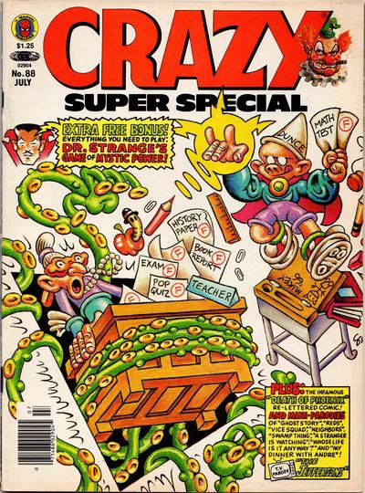 Cover for Crazy Magazine (Marvel, 1973 series) #88
