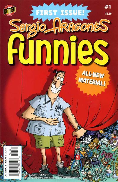 Cover for Sergio Aragonés Funnies (Bongo, 2011 series) #1