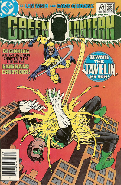 Cover for Green Lantern (DC, 1976 series) #173 [Newsstand]