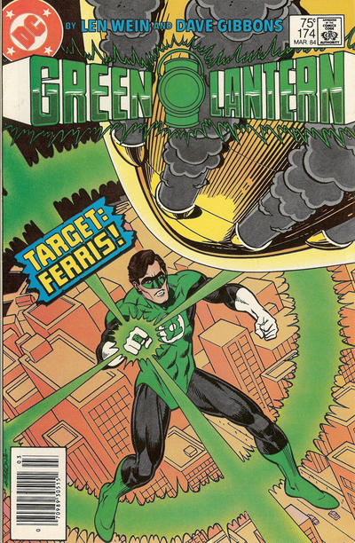 Cover for Green Lantern (DC, 1976 series) #174 [Direct Edition]