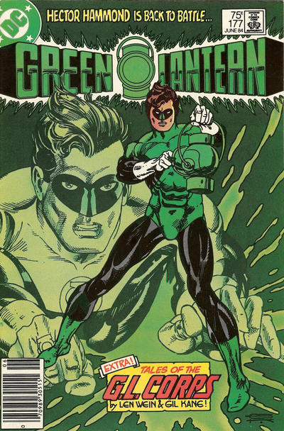 Cover for Green Lantern (DC, 1976 series) #177 [Newsstand]