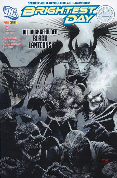 Cover for Brightest Day (Panini Deutschland, 2011 series) #3