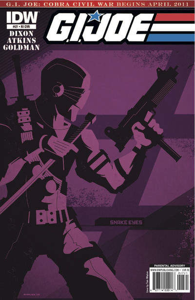Cover for G.I. Joe (IDW, 2008 series) #27 [Cover A]