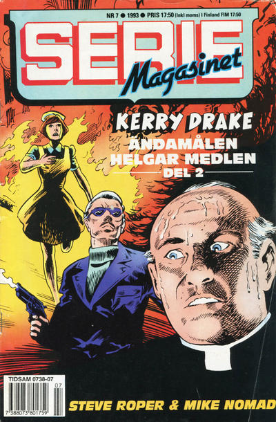 Cover for Seriemagasinet (Semic, 1970 series) #7/1993