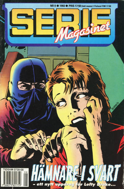 Cover for Seriemagasinet (Semic, 1970 series) #8/1993