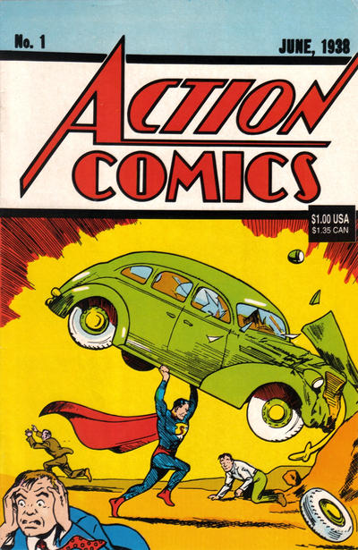 Cover for Action Comics 1 Reprint [Death of Superman] (DC, 1992 series) #[nn]