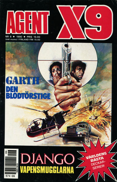 Cover for Agent X9 (Semic, 1971 series) #6/1990
