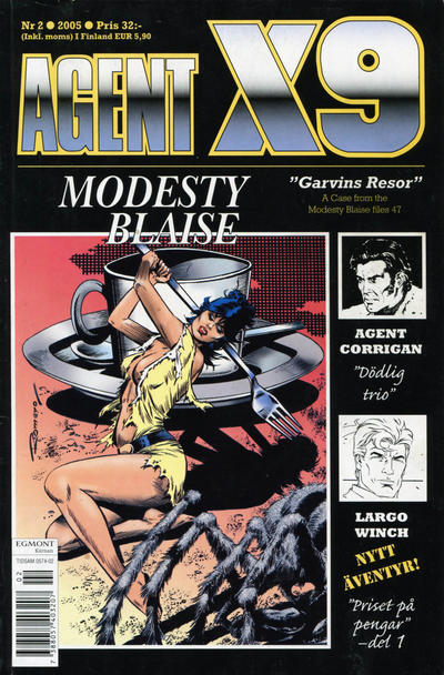 Cover for Agent X9 (Egmont, 1997 series) #2/2005