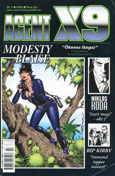 Cover for Agent X9 (Egmont, 1997 series) #7/2005