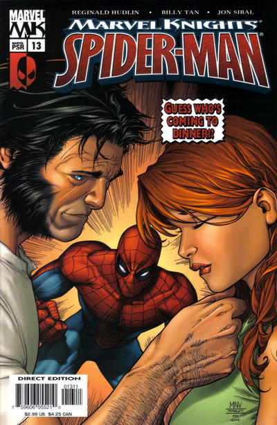 Cover for Marvel Knights Spider-Man (Marvel, 2004 series) #13 [Direct Edition]