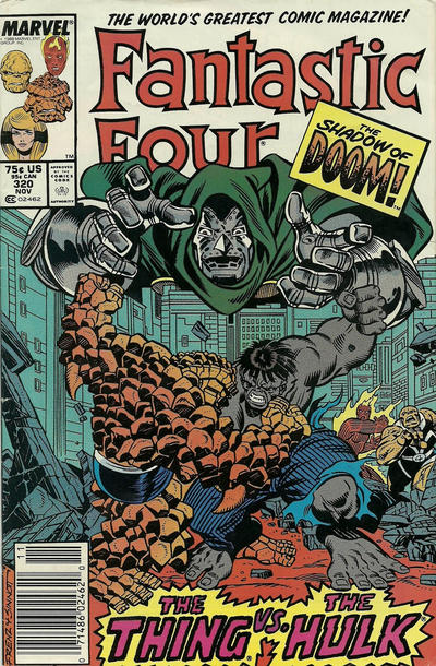 Cover for Fantastic Four (Marvel, 1961 series) #320 [Direct Edition]