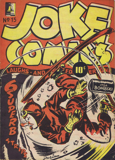 Cover for Joke Comics (Bell Features, 1942 series) #15