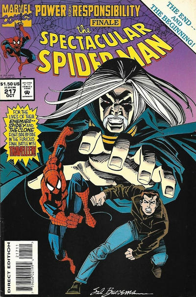 Cover for The Spectacular Spider-Man (Marvel, 1976 series) #217