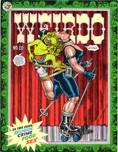 Cover for Weirdo (Last Gasp, 1981 series) #20 [2.95 print- 3.95 USD]