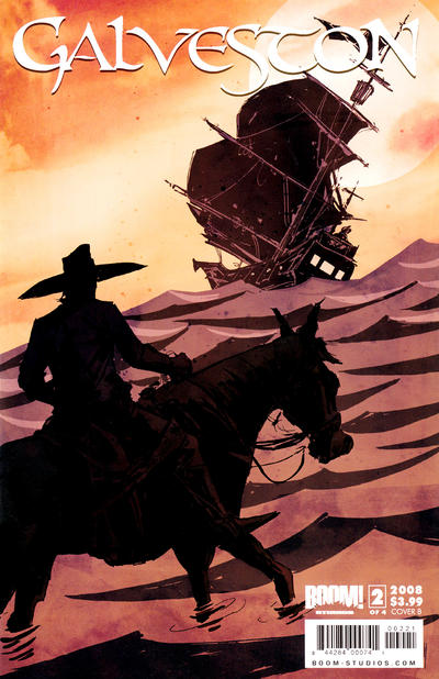 Cover for Galveston (Boom! Studios, 2008 series) #2 [Cover B]