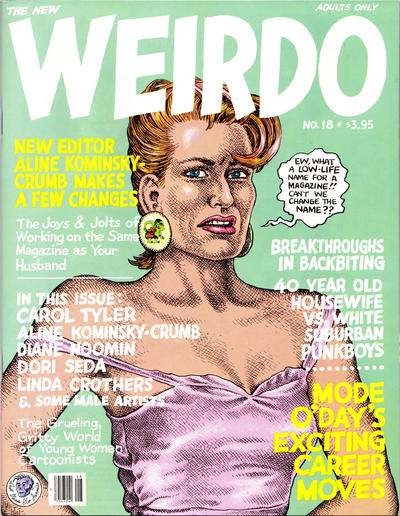 Cover for Weirdo (Last Gasp, 1981 series) #18 [2nd print- 3.95 USD]