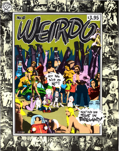 Cover for Weirdo (Last Gasp, 1981 series) #6 [1st printing]