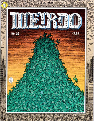 Cover for Weirdo (Last Gasp, 1981 series) #26 [2nd print- 3.95 USD]
