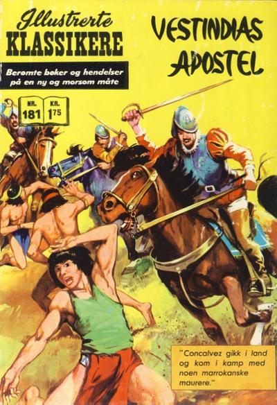 Cover for Illustrerte Klassikere [Classics Illustrated] (Illustrerte Klassikere / Williams Forlag, 1957 series) #181 - Vestindias apostel