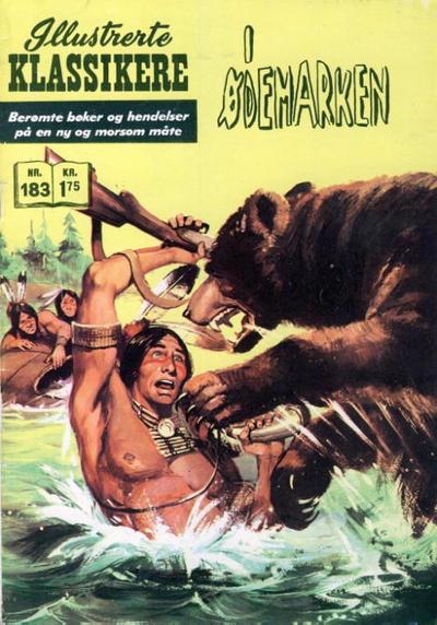 Cover for Illustrerte Klassikere [Classics Illustrated] (Illustrerte Klassikere / Williams Forlag, 1957 series) #183 - I ødemarken