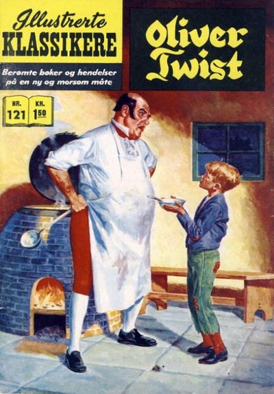 Cover for Illustrerte Klassikere [Classics Illustrated] (Illustrerte Klassikere / Williams Forlag, 1957 series) #121 - Oliver Twist [1. opplag]
