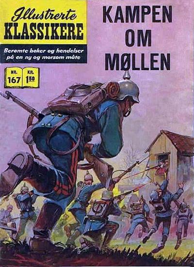 Cover for Illustrerte Klassikere [Classics Illustrated] (Illustrerte Klassikere / Williams Forlag, 1957 series) #167 - Kampen om møllen