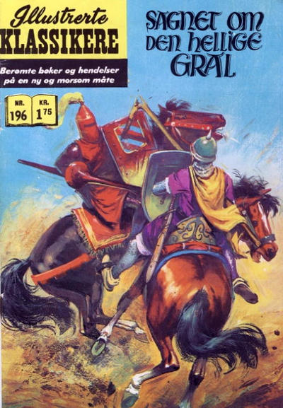 Cover for Illustrerte Klassikere [Classics Illustrated] (Illustrerte Klassikere / Williams Forlag, 1957 series) #196 - Sagnet om den hellige gral