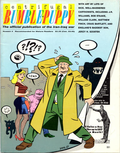 Cover for Centrifugal Bumble-Puppy (Fantagraphics, 1987 series) #4