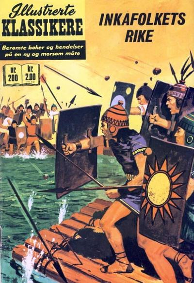 Cover for Illustrerte Klassikere [Classics Illustrated] (Illustrerte Klassikere / Williams Forlag, 1957 series) #200 - Inkafolkets rike