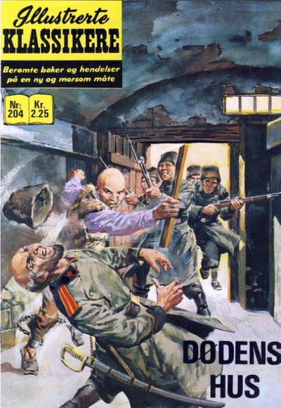 Cover for Illustrerte Klassikere [Classics Illustrated] (Illustrerte Klassikere / Williams Forlag, 1957 series) #204 - Dødens hus
