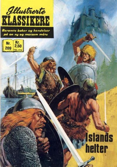 Cover for Illustrerte Klassikere [Classics Illustrated] (Illustrerte Klassikere / Williams Forlag, 1957 series) #209 - Islands helter