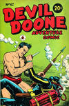 Cover for Devil Doone Adventure Comic (K. G. Murray, 1962 ? series) #42