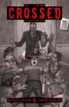 Cover for Crossed Family Values (Avatar Press, 2010 series) #1 [Incentive Red Crossed Cover - Jacen Burrows]