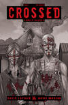 Cover for Crossed Family Values (Avatar Press, 2010 series) #2 [Incentive Red Crossed Cover - Jacen Burrows]